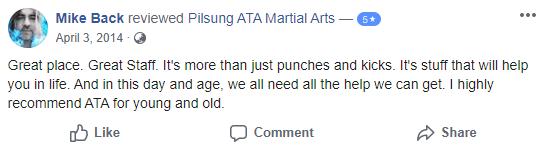 Adult 2, Pilsung ATA Martial Arts
