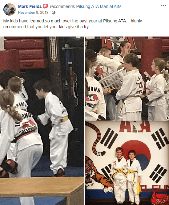 Kids 1, Pilsung ATA Martial Arts