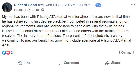 Kids 2, Pilsung ATA Martial Arts