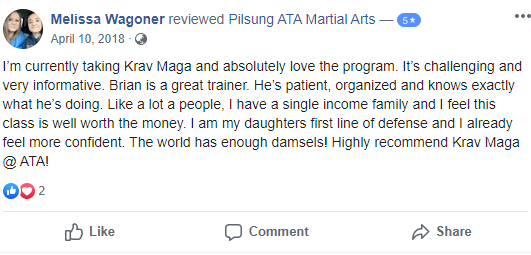 Add2, Pilsung ATA Martial Arts